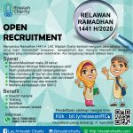 Open Recruitment Relawan Ramadhan 1441 H